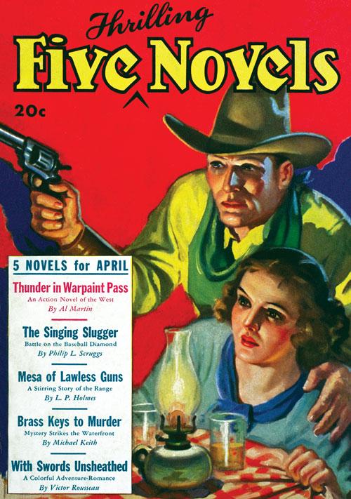 Brass Keys to Murder, published in 1935 in Five Novels