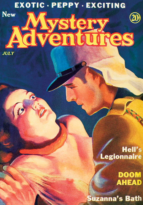 Hell's Legionnaire, published in 1935 in Mystery Adventures
