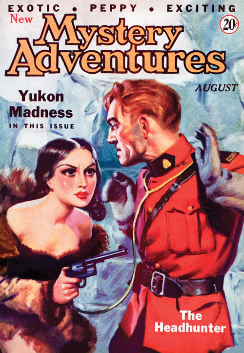 Yukon Madness, published in 1935 in Mystery Adventures
