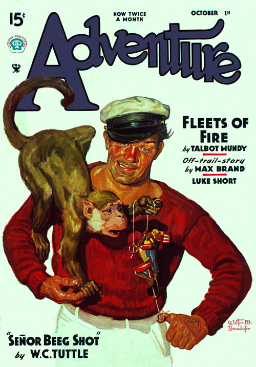 He Walked to War, published in 1935 in Adventure