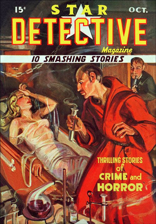 Murder Afloat, published in 1935 in Star Detective