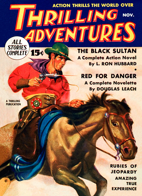 The Black Sultan, published in 1935 in Thrilling Adventures