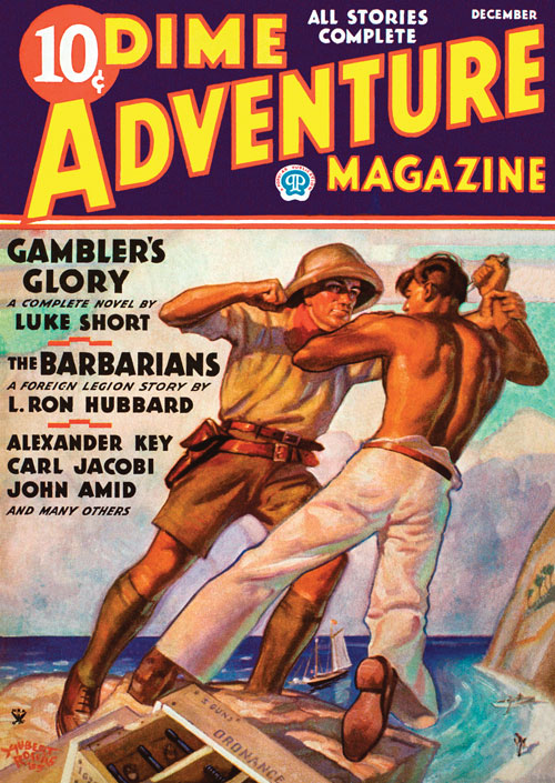 The Barbarians, published in 1935 in Dime Adventure Magazine