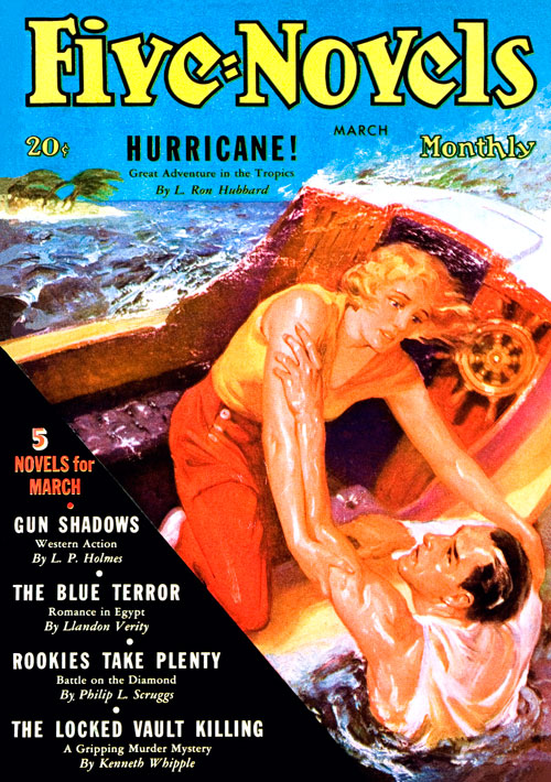 Hurricane, published in 1936 in Five-Novels Monthly