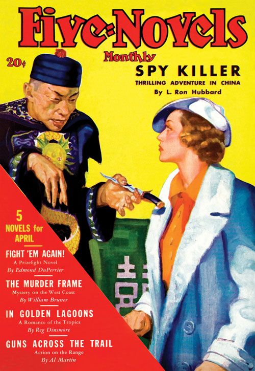 Spy Killer, published in 1936 in Five-Novels Monthly