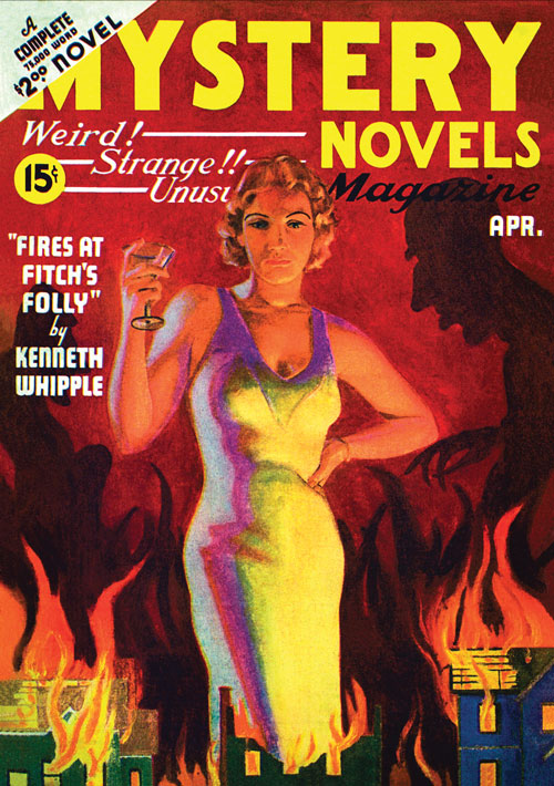 The Death Flyer, published in 1936 in Mystery Novels Magazine
