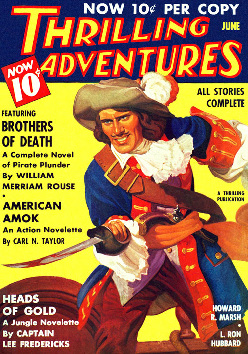 Escape for Three, published in 1936 in Thrilling Adventures