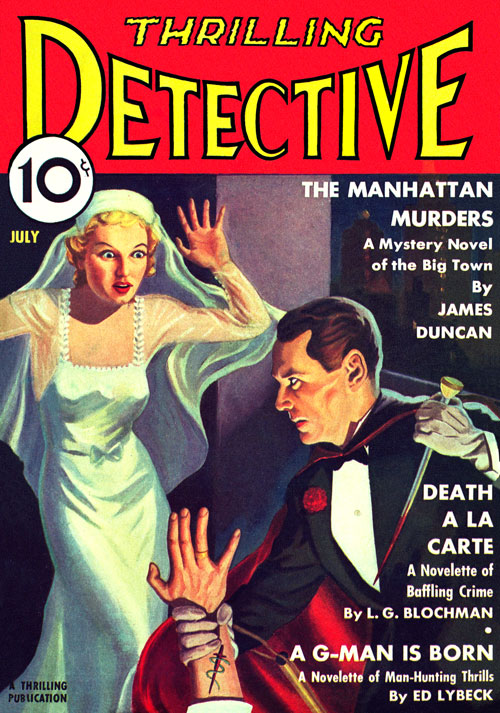 The Grease Spot, published in 1936 in Thrilling Detective