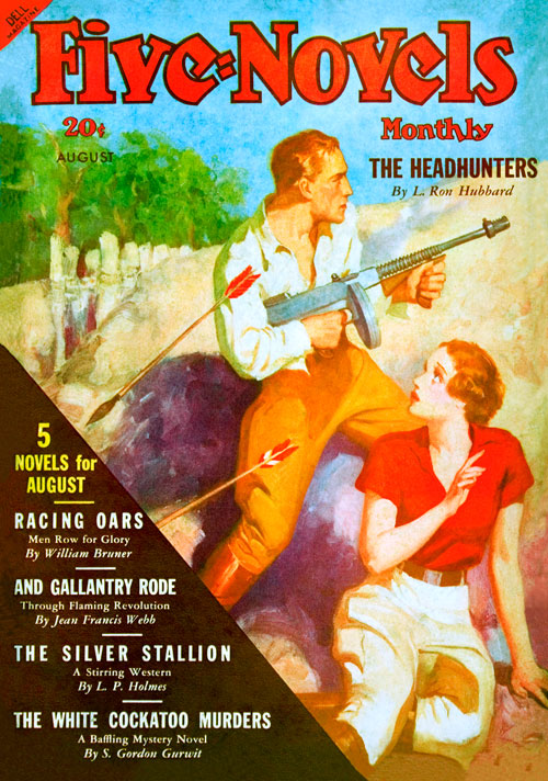 The Headhunters, published in 1936 in Five-Novels Monthly