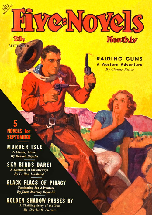 Sky Birds Dare!, published in 1936 in Five-Novels Monthly