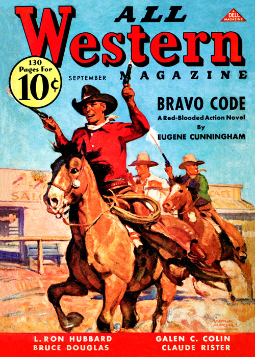 The Baron of Coyote River, published in 1936 in All Western Magazine