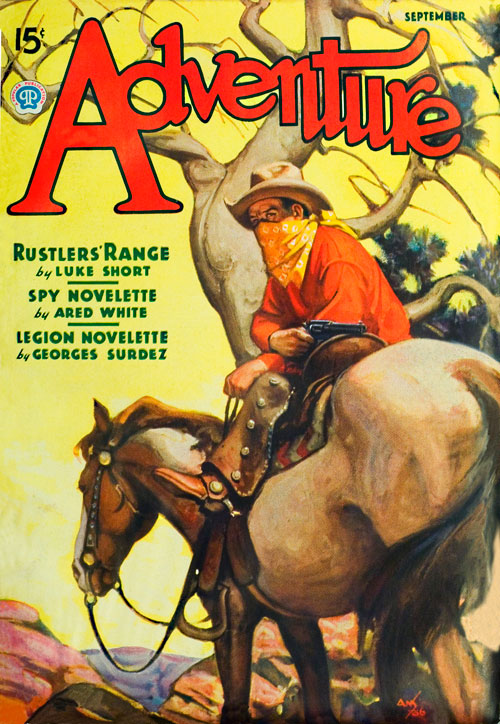 Mr. Tidwell, Gunner, published in 1936 in Adventure
