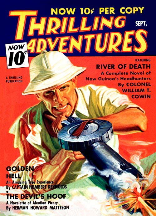 Golden Hell, published in 1936 in Thrilling Adventures