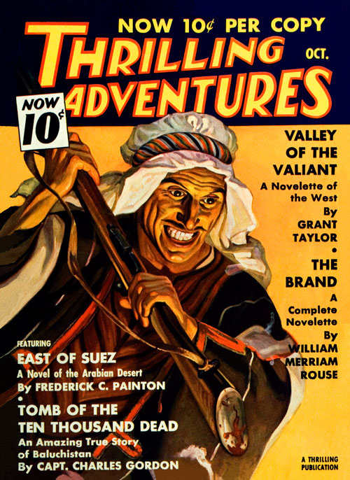Tomb of the Ten Thousand Dead, published in 1936 in Thrilling Adventures