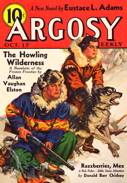 Test Pilot, published in 1936 in Argosy
