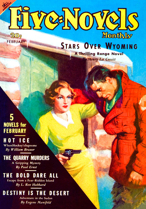 The Bold Dare All, published in 1937 in Five-Novels Monthly