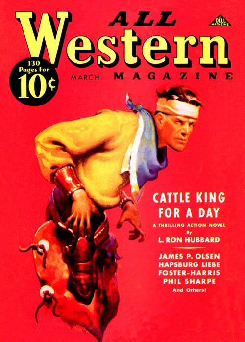 Cattle King for a Day, published in 1937 in All Western Magazine