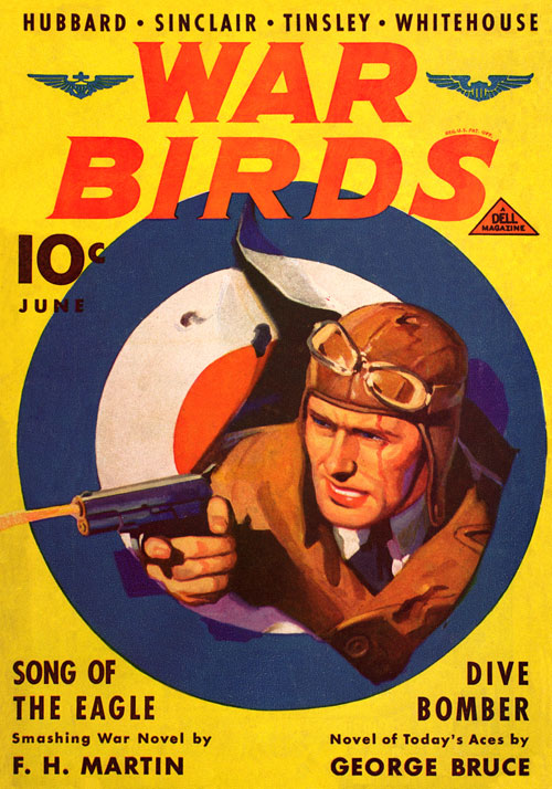 The Crate Killer, published in 1937 in War Birds
