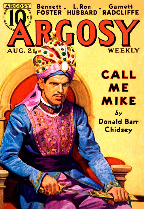 Nine Lives, published in 1937 in Argosy