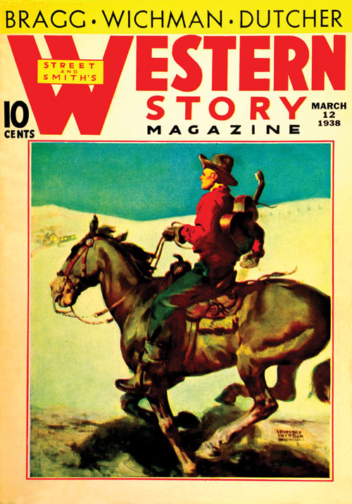 Six-Gun Caballero, published in 1938 in Western Story Magazine