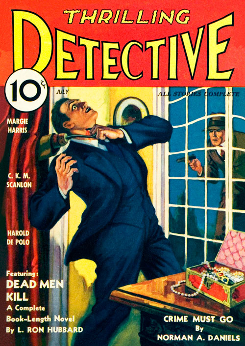 Dead Men Kill, published in 1934 in Thrilling Detective