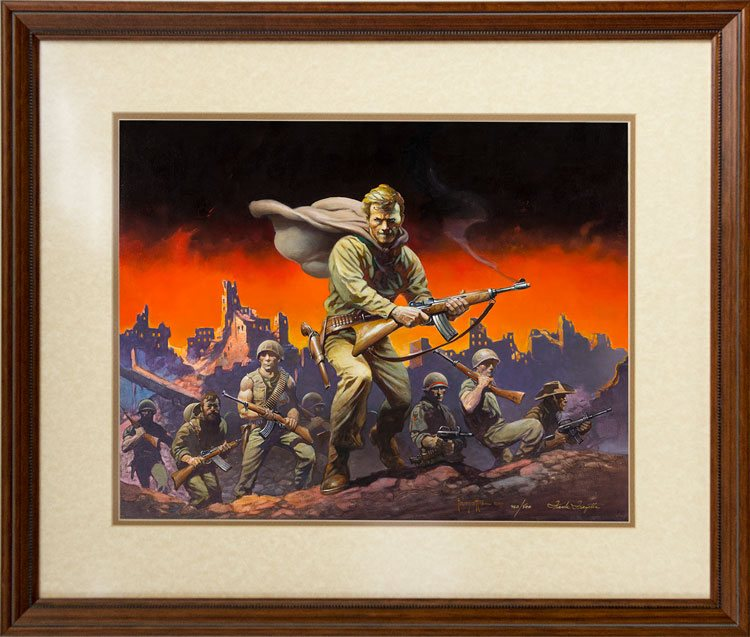 """The Lieutenant"" by Frank Frazetta"