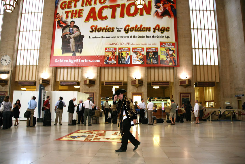 Stories from the Golden Age take over Penn Station
