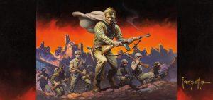 The Lieutenant by Frank Frazetta