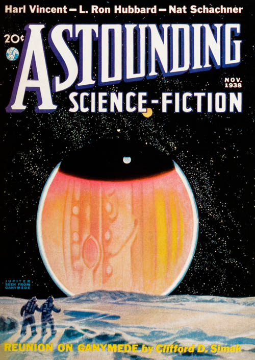 The Tramp, Part 3, published in 1938 in Astounding Science-Fiction