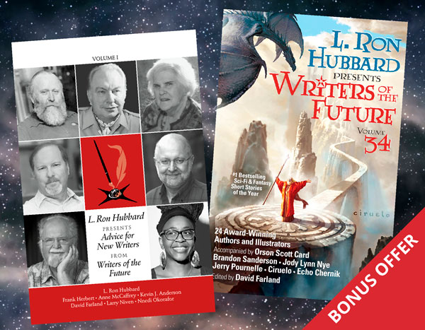 Writers of the Future Volume 34 Bonus Offer