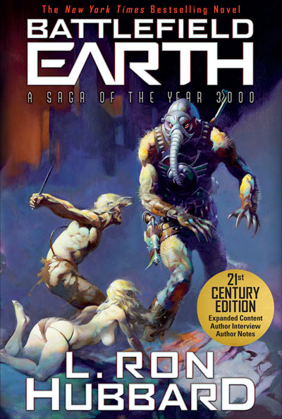 Battlefield Earth book Trade Paperback