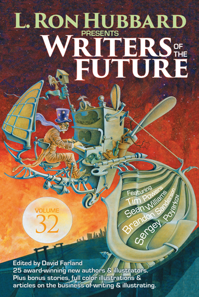Writers of the Future Volume 32 trade paperback
