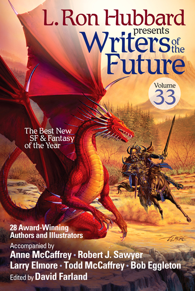 Writers of the Future Volume 33 trade paperback
