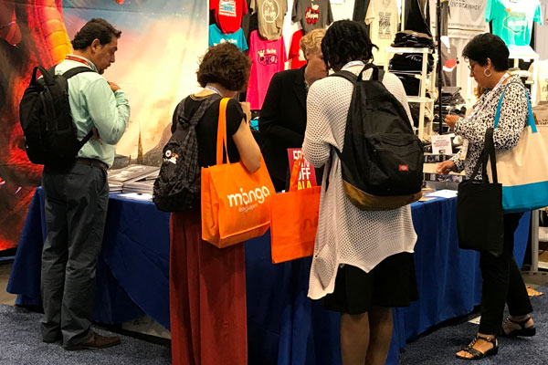 American Library Association Galaxy Booth 2017