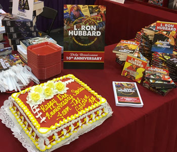 10th Anniversary of Stories from the Golden Age cake