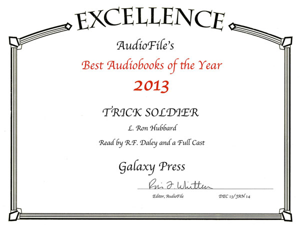Trick Soldier Audiobook of the Year 2013