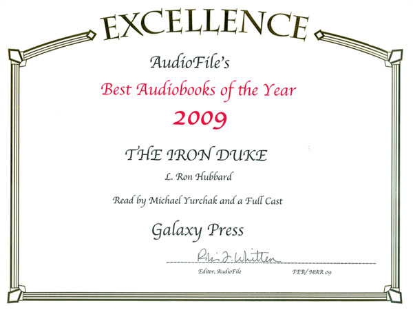 The Iron Duke Best Audiobook of the Year 2009