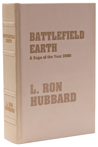 "Battlefield Earth ""Windsplitter"" First Edition Leatherbound"