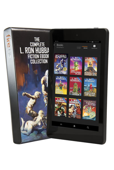 L. Ron Hubbard Fiction Ebook Collection Kindle HD FIre