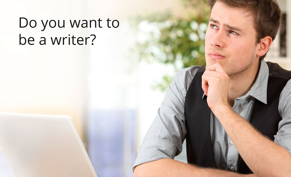 Do you want to be a writer?