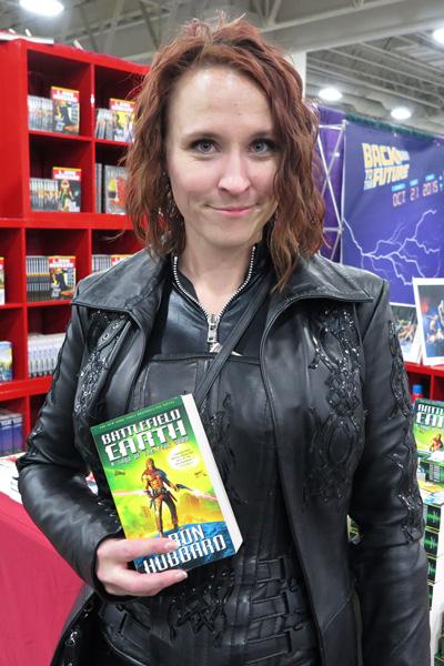 Battlefield Earth fan at Salt Lake Comic Con 2015