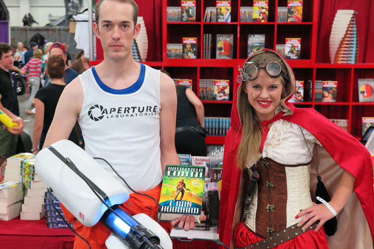 Battlefield Earth fans at Salt Lake Comic Con 2015