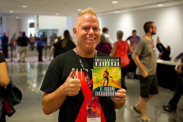 Battlefield Earth fan at Dragon Con 2015