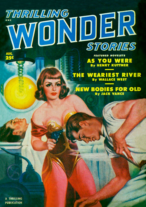 Battling Bolto, published in 1950 in Thrilling Wonder Stories