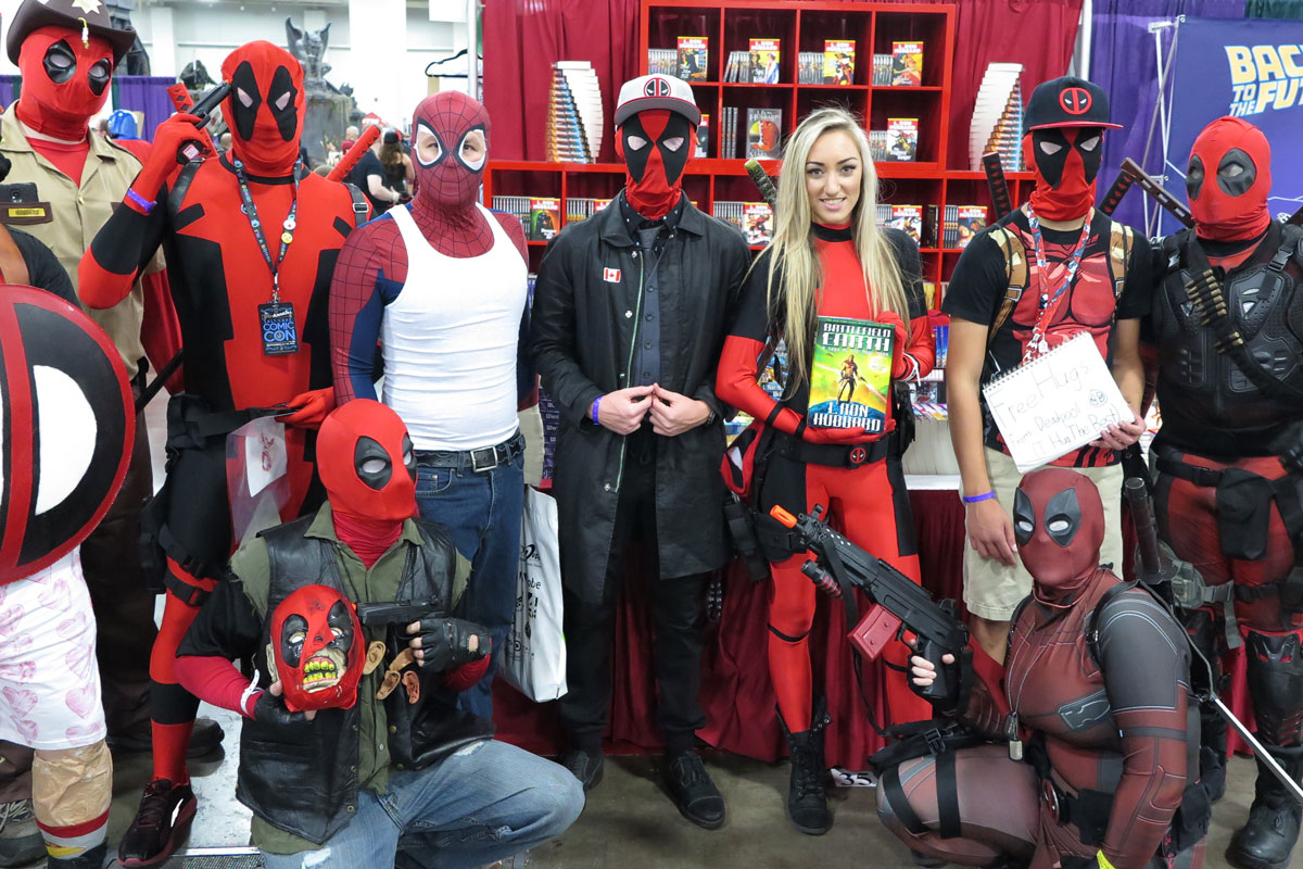 Deadpool at Salt Lake Comic Con 2015