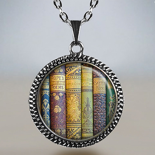 Book locket from MoonGardenDesigns on Etsy.com