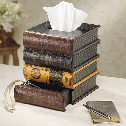 Book Tissue Box from www.expressionscatalog.com