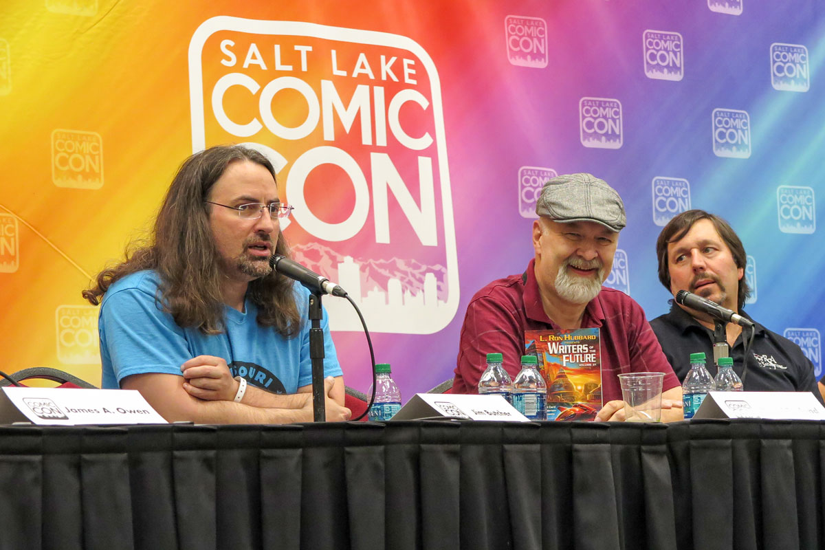 New York Times bestselling authors Jim Butcher, Dave Farland and R.A. Salvatore