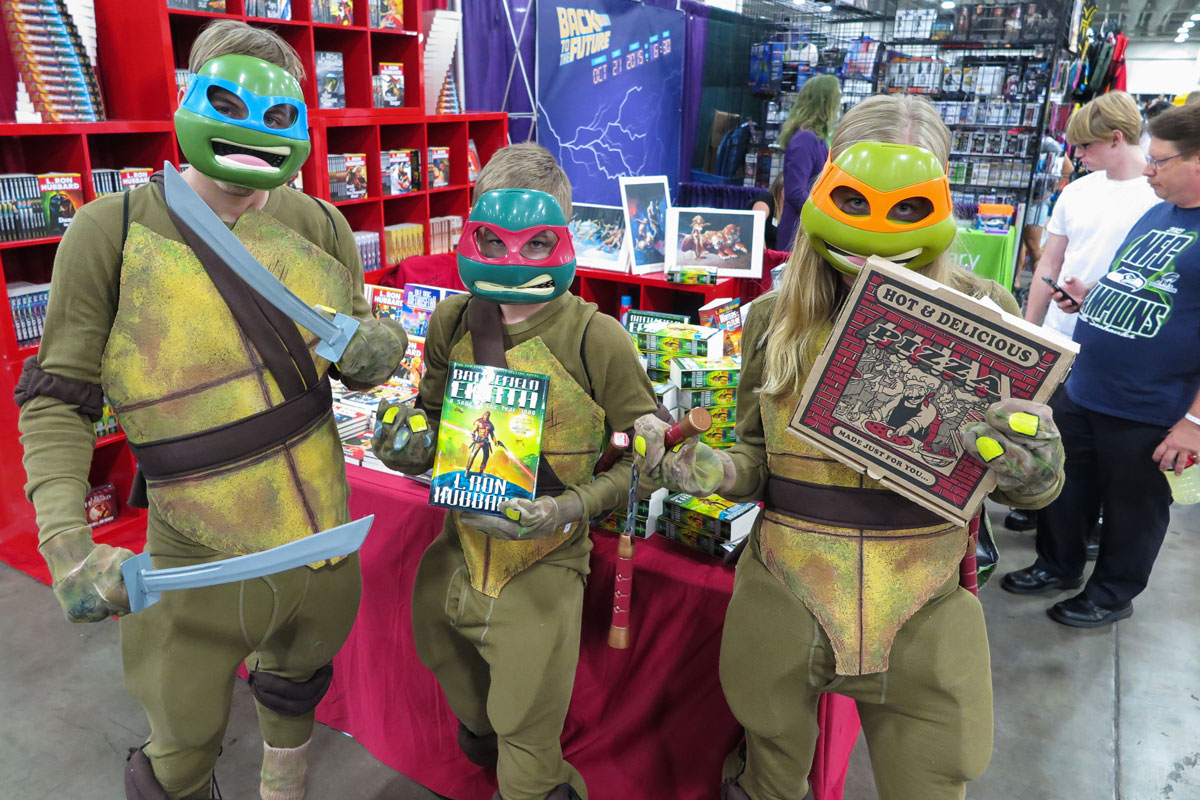 Ninja Turtles at Salt Lake COmic Con 2015