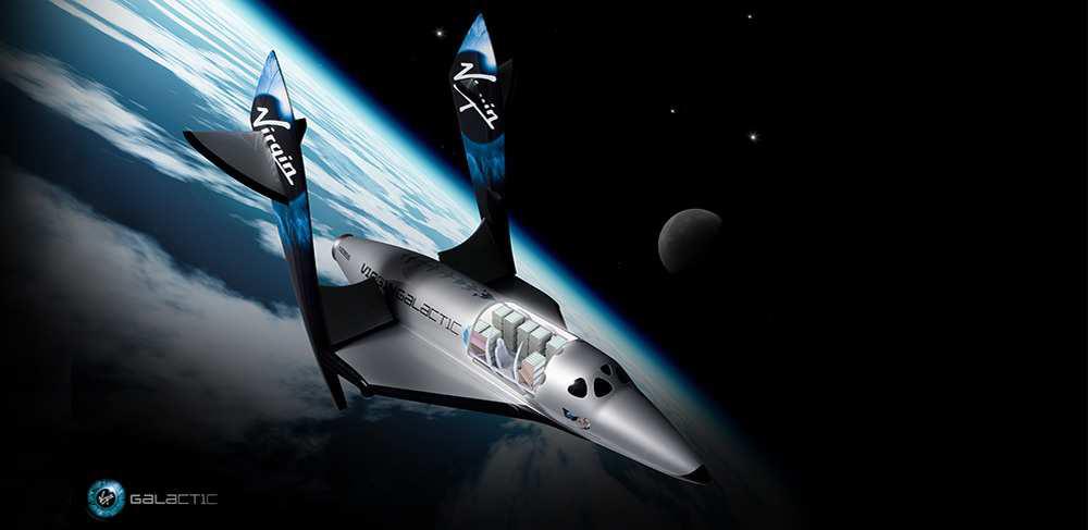Virgin Galactic payload mini